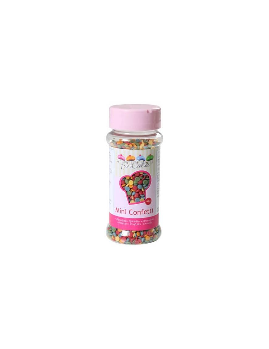 Mini-confetti multicolore Boite 50 g