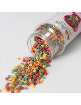 Mini-confetti multicolore Boite 60 g