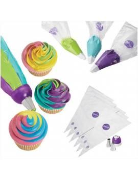 Kit Adaptateur à douilles 3 couleurs + 2 douilles Wilton ColorSwirl