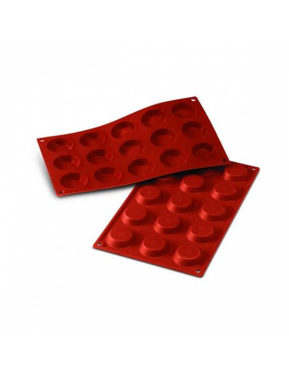 Moule en silicone flexible pour tartelette