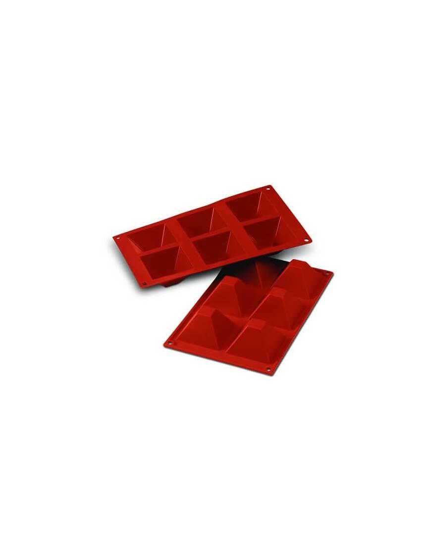 Moule en silicone flexible pour mini financiers