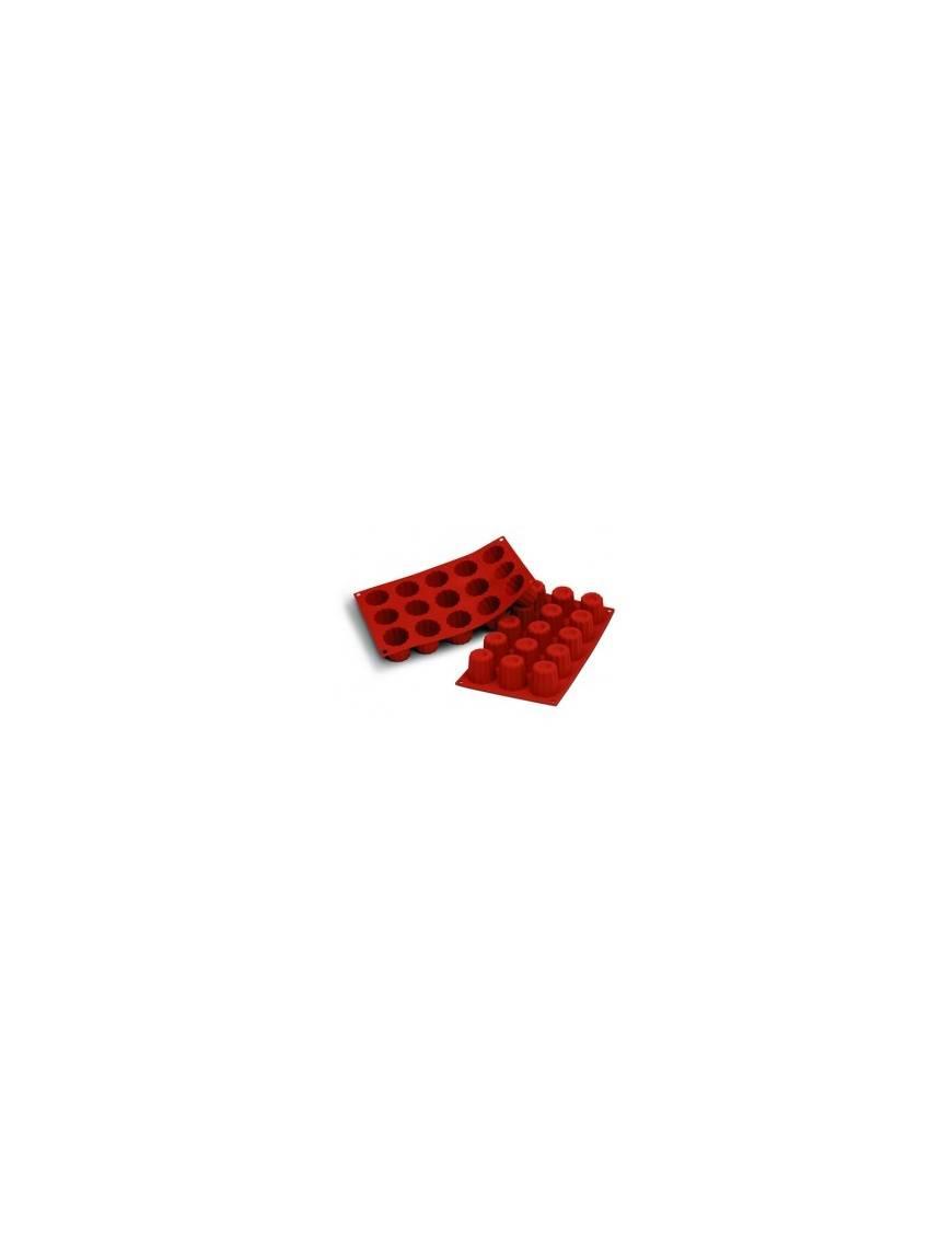 Moule en silicone flexible pour cannelé