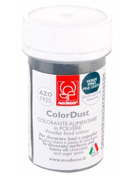 Colorant alimentaire en poudre Vert Sapin 3g