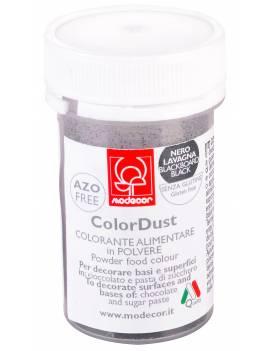Colorant alimentaire en poudre noir ardoise 3g