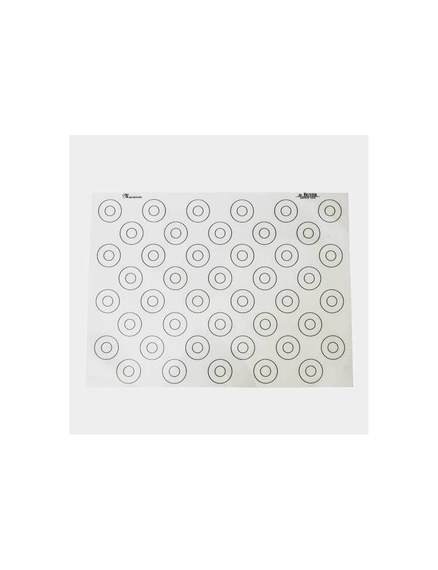 Tapis silicone spécial macarons