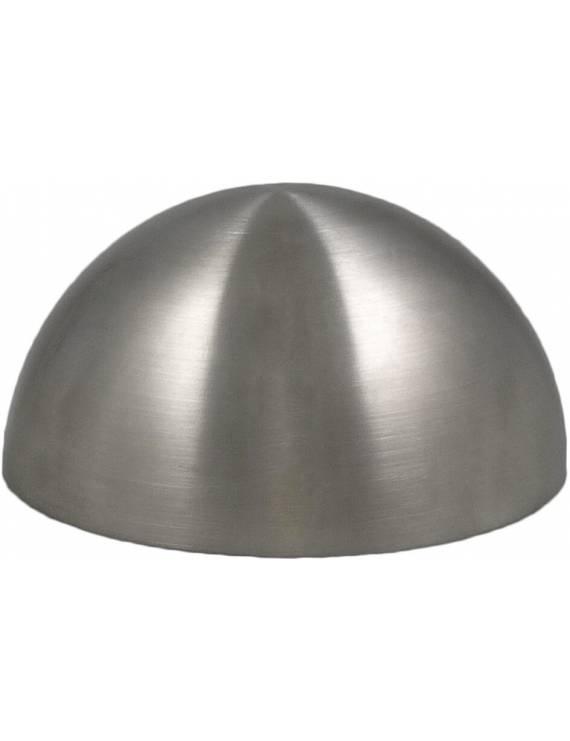 Moule demi sphère en acier brossé inox