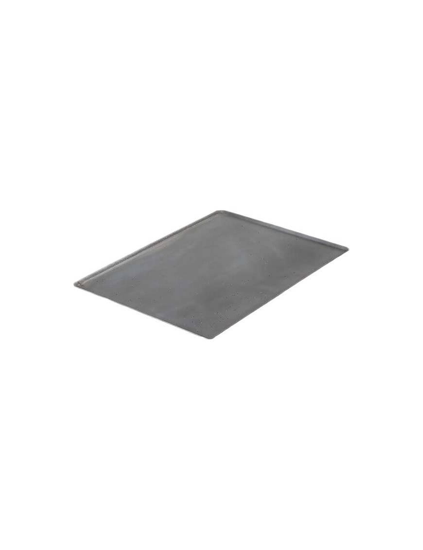 Plaque en tôle d'acier 40x30 cm