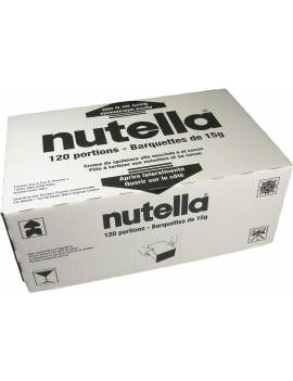 Barquettes Nutella individuelles x120