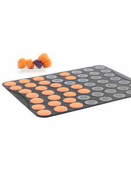 Plaque en silicone pour 53 petits macarons