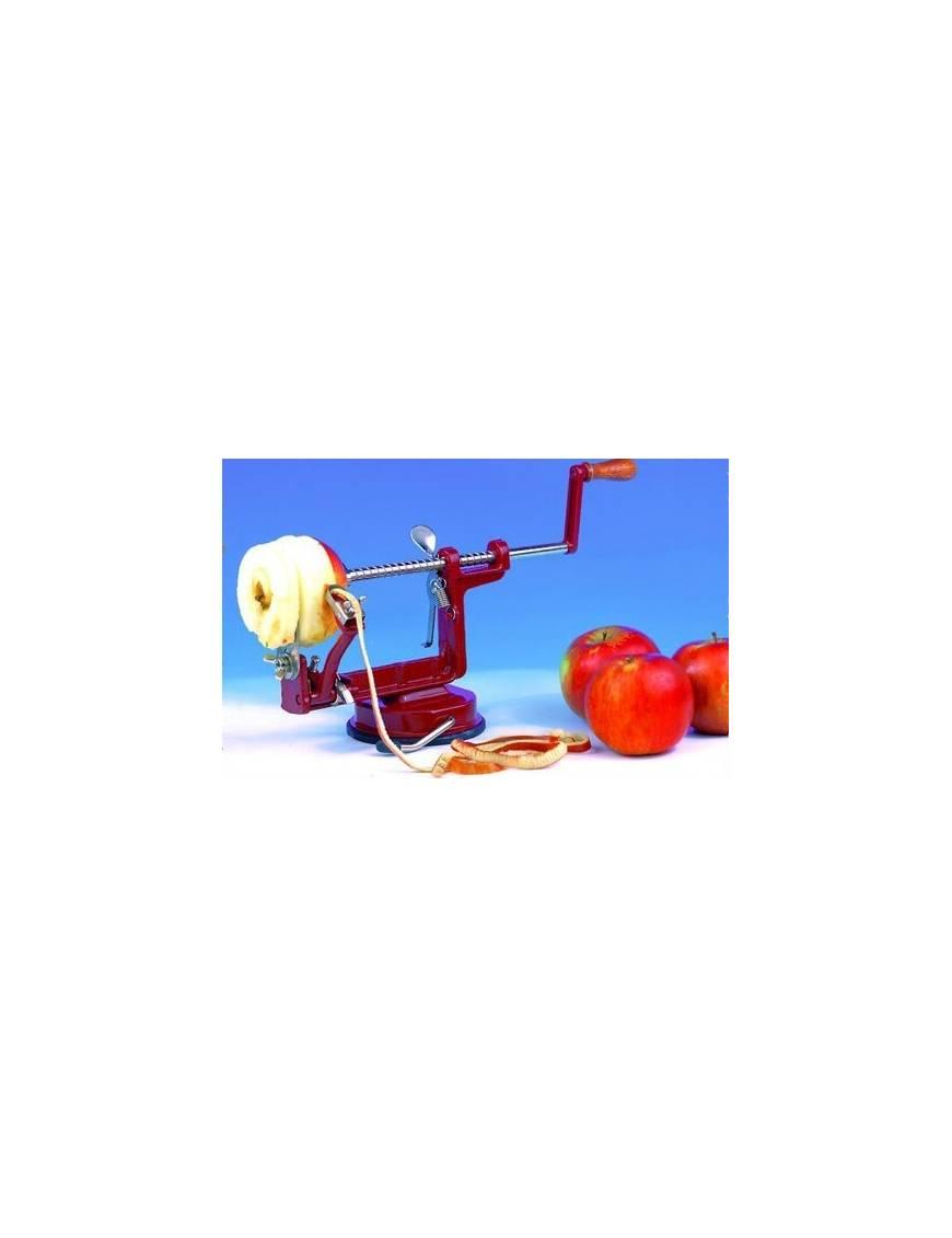 Éplucheur, trancheur et vide-pomme à ventouse