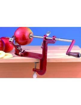 Éplucheur, trancheur et vide-pomme à serre joints