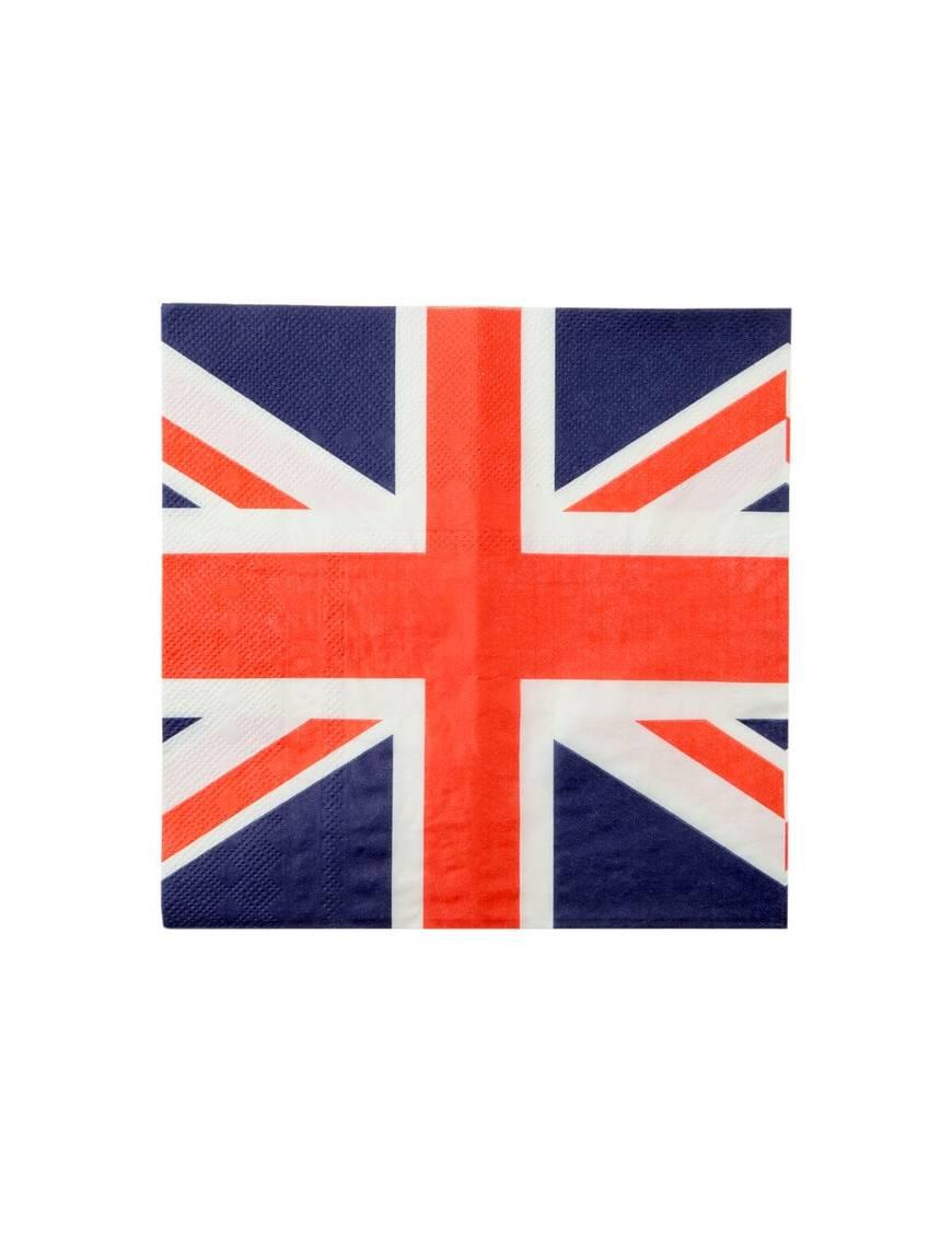 Serviette en papier Drapeau anglais x20