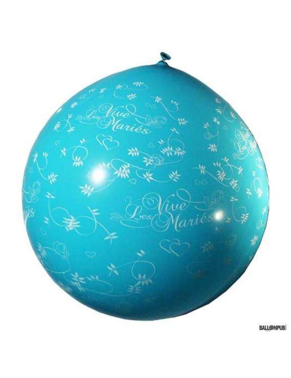"""Ballon géant de mariage """"Vive les mariés"""""""
