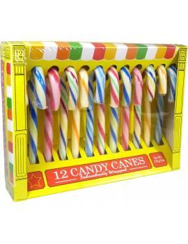 Candy Canes Tutti Frutti x12