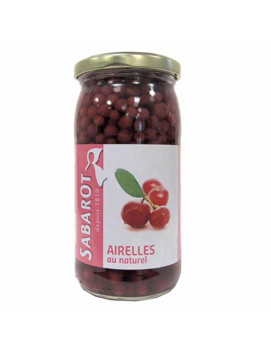 Airelles au naturel en bocal 125g