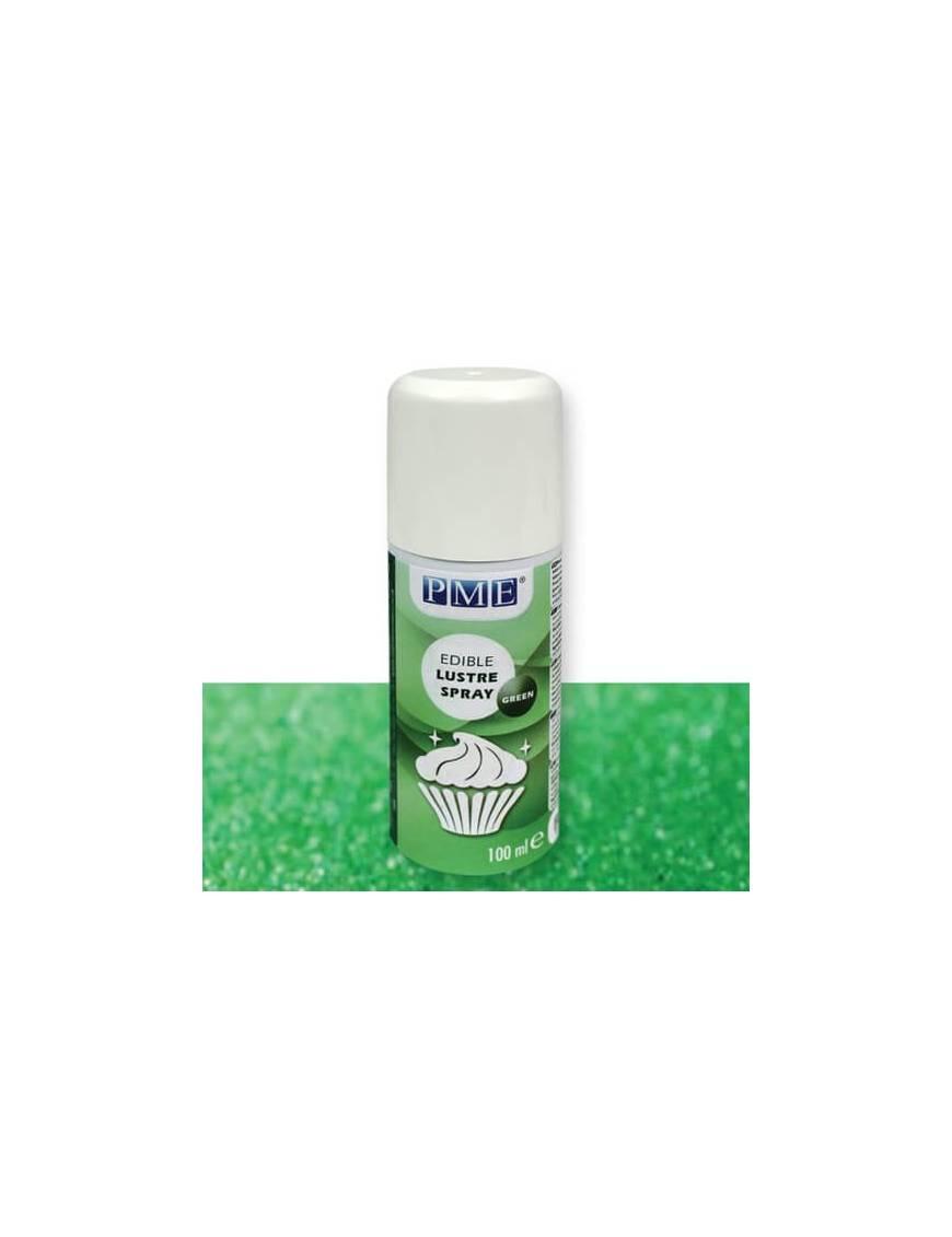 Vernis alimentaire brillant blanc perle en spray 100mL