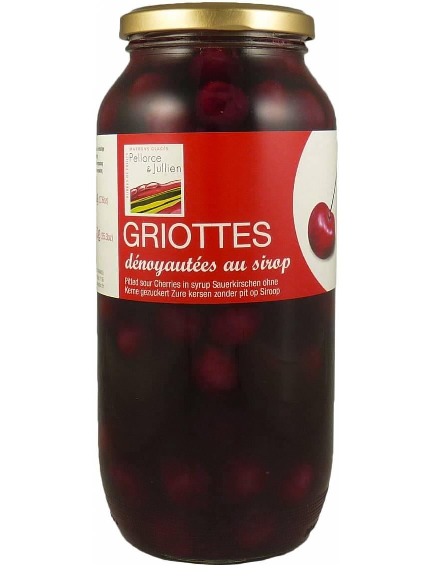 Griottes dénoyautées 1kg