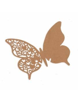 Marque verres Papillon Dentelle x10 pièces