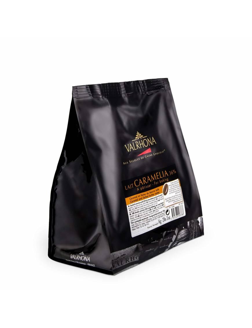 Caramélia 36 % - Chocolat lait / caramel de couverture Valrhona
