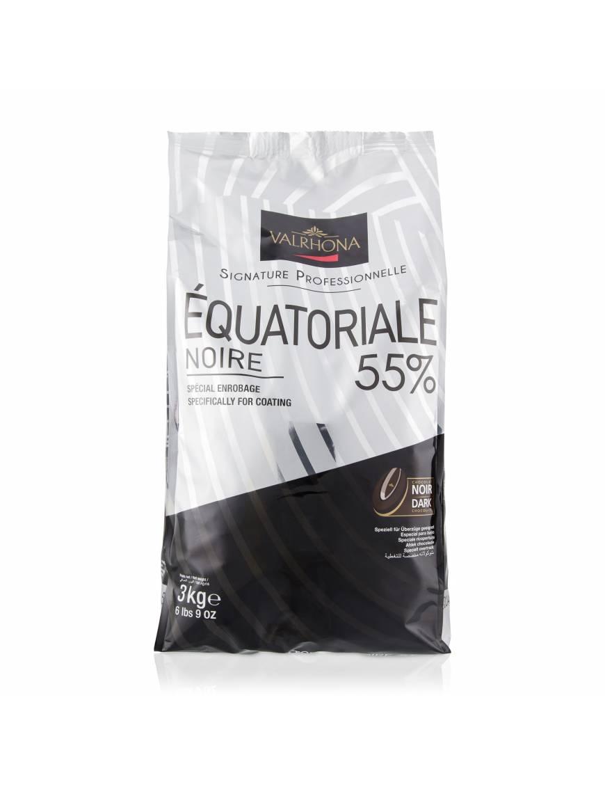 Extra Bitter 61% 3kg - Chocolat noir de couverture Valrhona