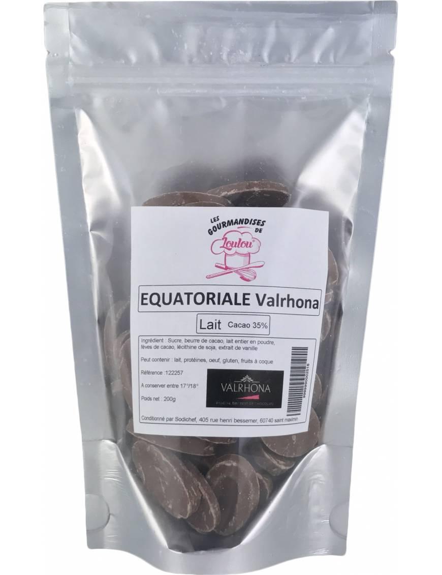 Equatoriale Lactée 35% 3kg - Chocolat au Lait de couverture Valrhona
