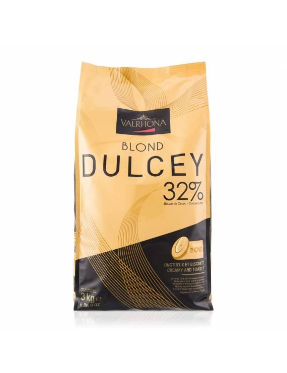 Blond Dulcey 32 % 1kg - Chocolat de couverture blond de couverture Valrhona