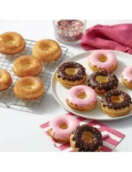 Moule anti adhésif pour Doughnuts x6