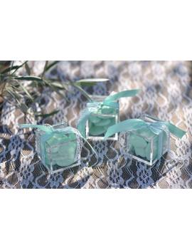 Boîte Cube Transparent