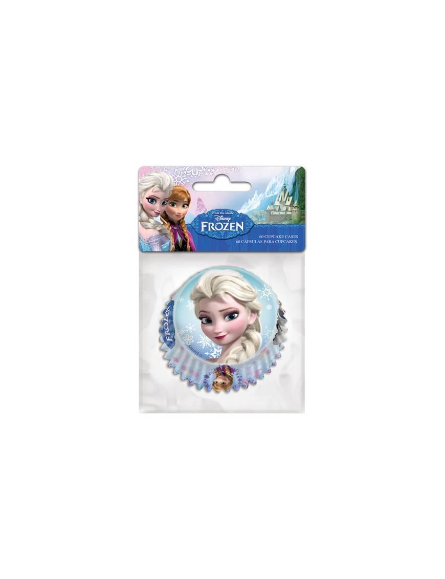 Caissettes Cupcakes Reine des Neiges x60