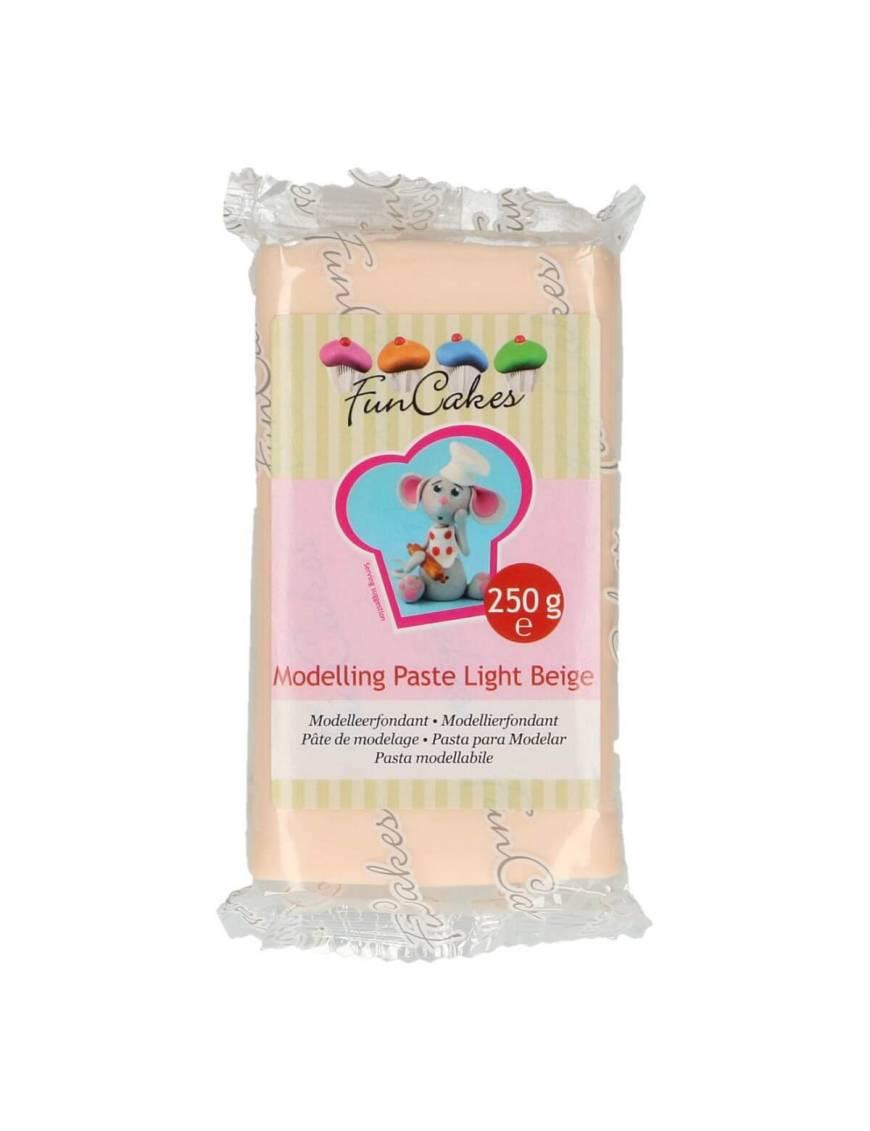 Pâte à modeler comestible blanche 250g
