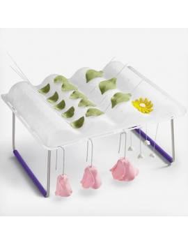 Séchoir pour fleurs et feuilles en sucre