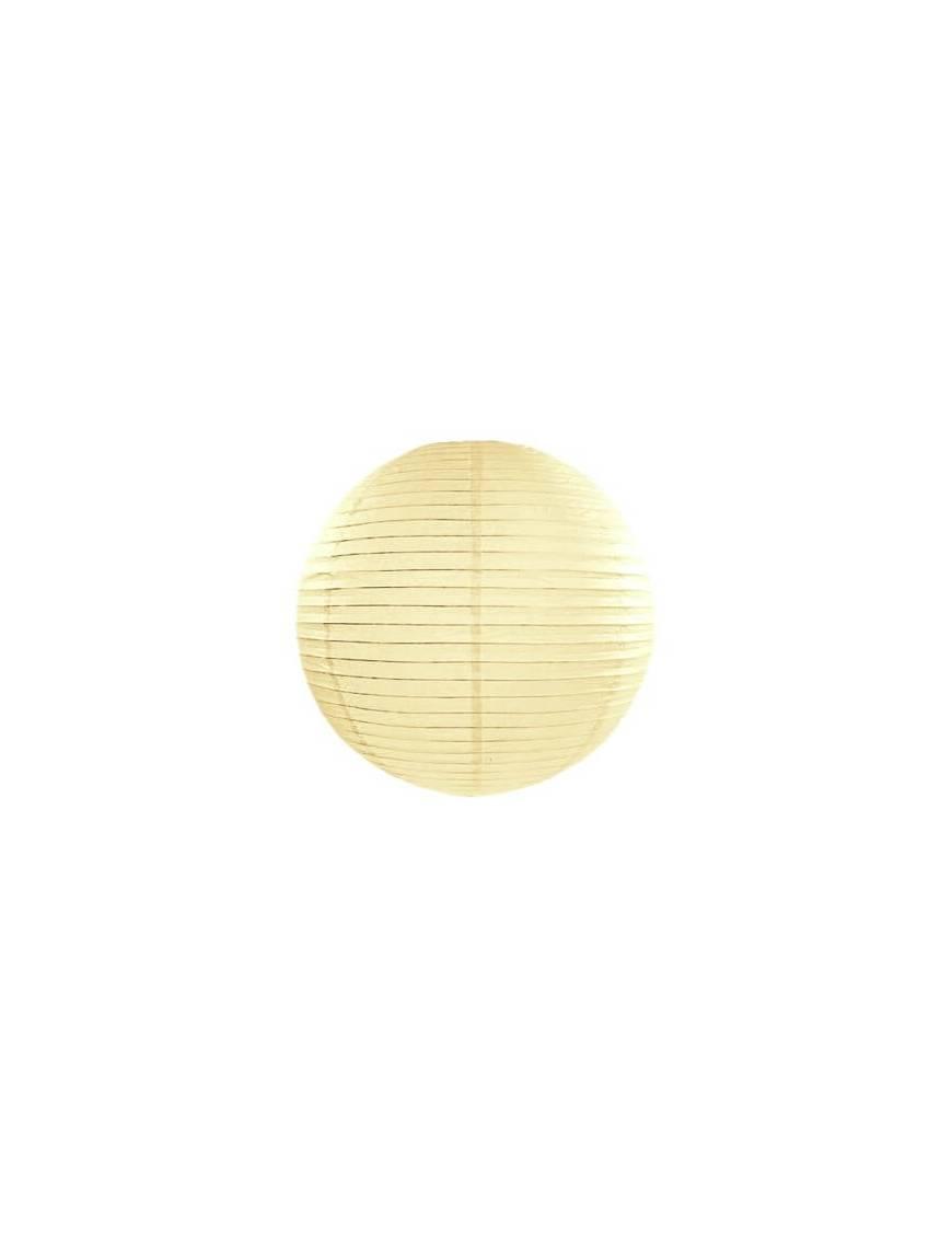 Boule en papier de couleur 25cm
