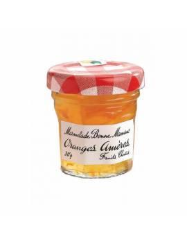 Pot de marmelade oranges amères individuel x 15