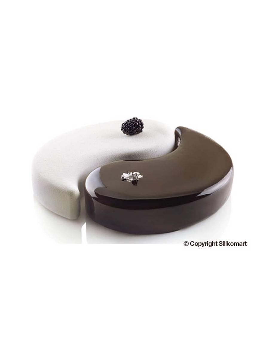 Moule Yin Yang 3D- Silikomart Professional