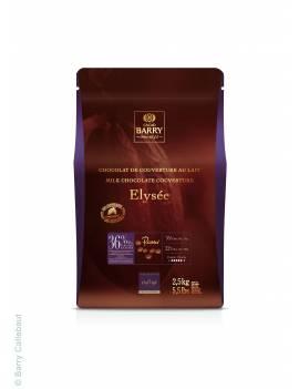 Chocolat de couverture au lait Elysée 36% - Maison Lenôtre x Cacao Barry