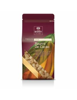 Beurre de cacao en pistole 1kg - Cacao Barry