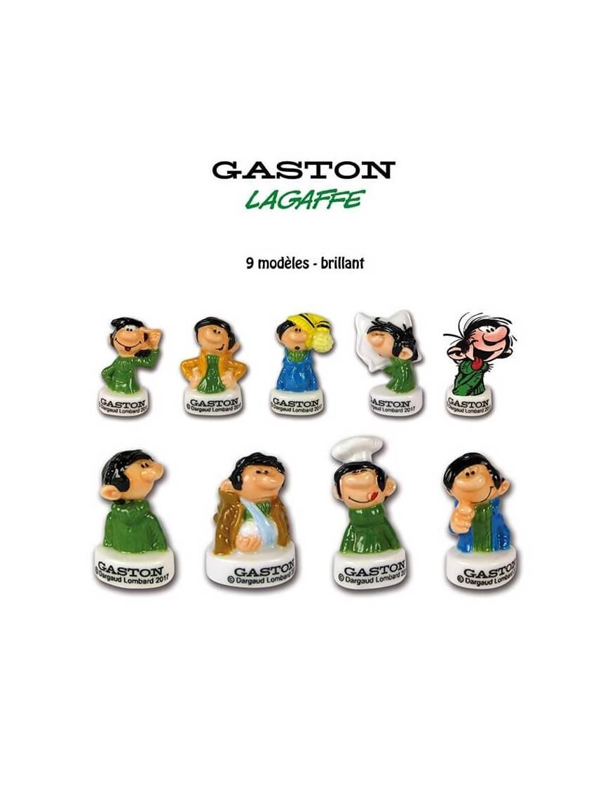 Série de fèves Gaston Lagaffe X9