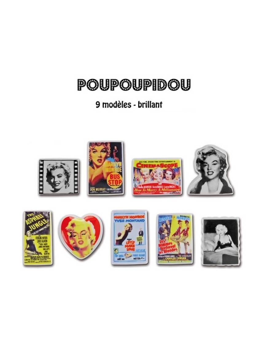 Série de fèves Poupoupidou x9