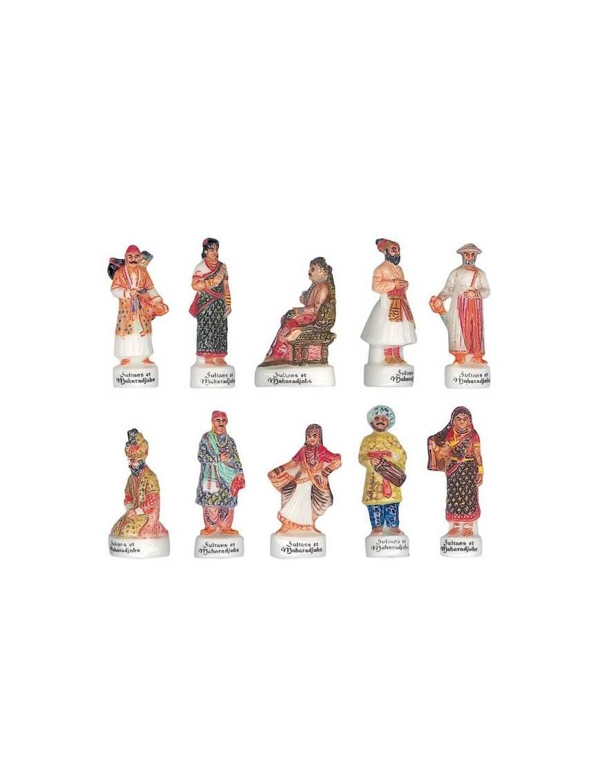 Série de fèves Sultans et Maharadjahs