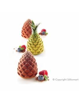 Moule Forêt & Ananas 3D - Silikomart Professional