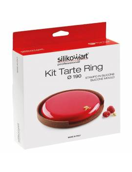 Kit Tarte Bague 3D - Silikomart Professional