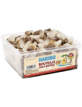 Haribo Bouteille cola mistral boite tubo 210 pièces
