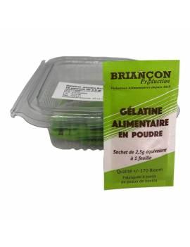 Gélatine en poudre 10 sachets de 2,5gr - Bovine