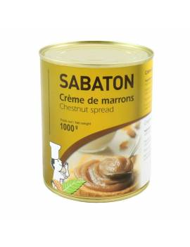 Crème de marrons 1kg - Sabaton