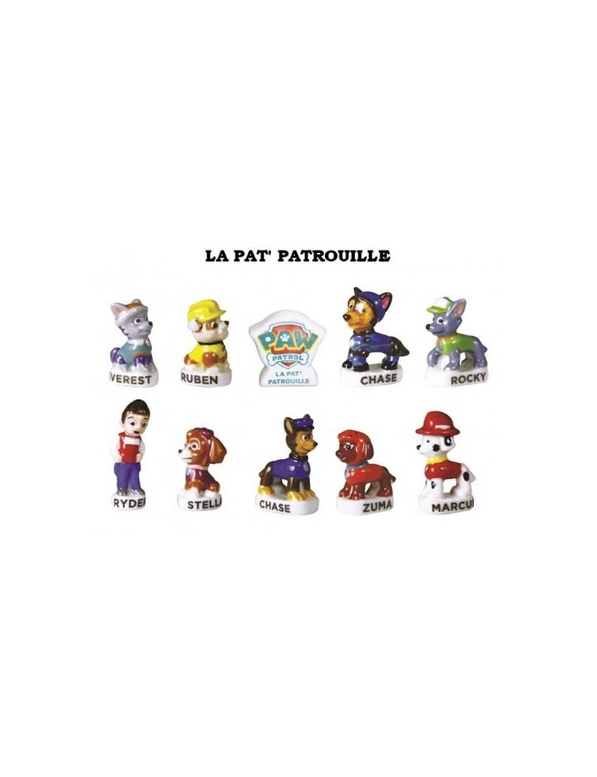 Série de fèves Pat Patrouille x10