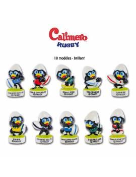 Série de fèves Calimero Rugby x10