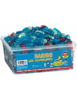 Haribo les Schtroumpfs boîte tubo 210 piéces