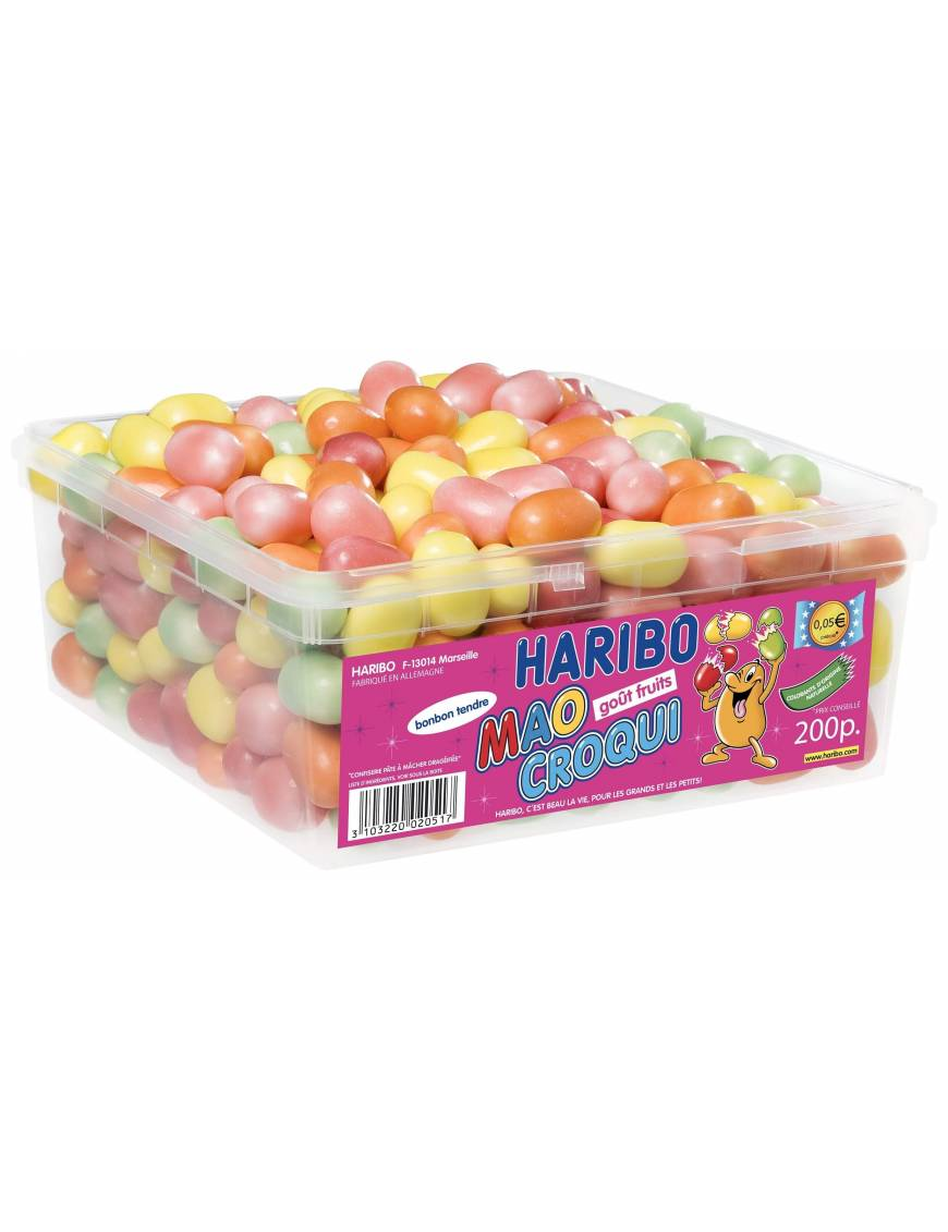 Haribo Mao Croqui Fruit