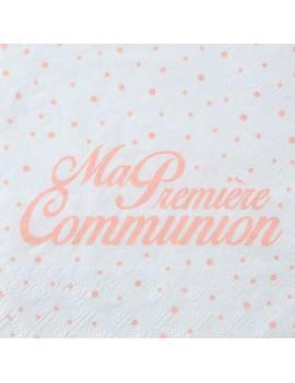 Serviette Première Communion x 20