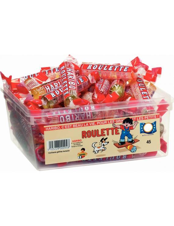 Haribo Roulette boite de 45 piéces
